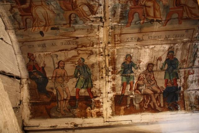 Scenele Isus la Pilat și Isus încoronat cu spini