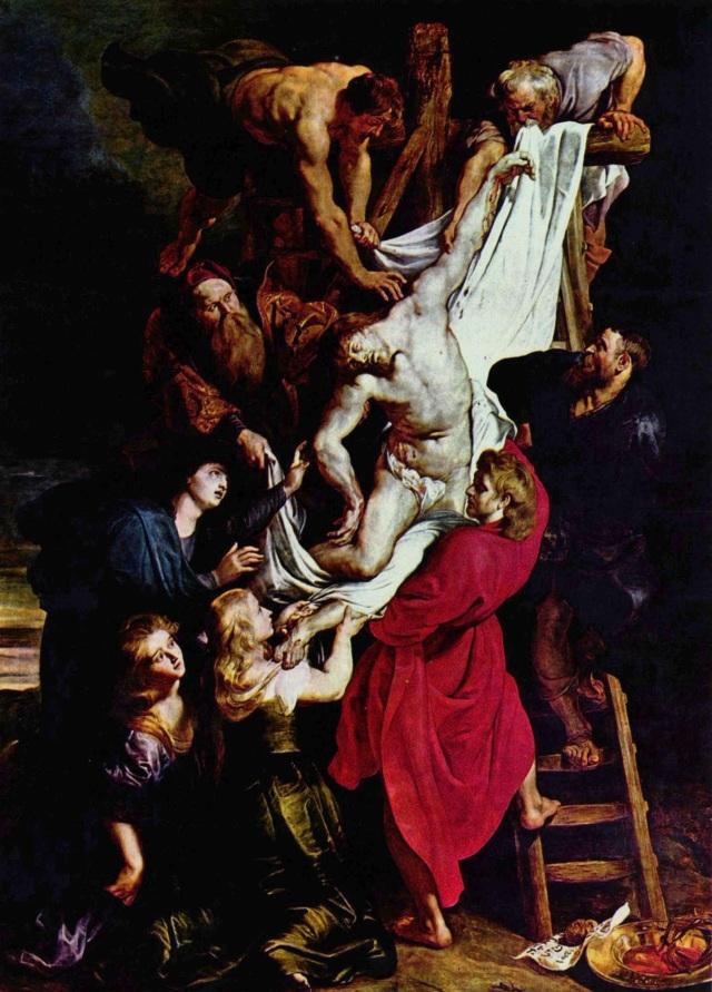 Luarea de pe Cruce la Rubens